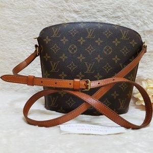 Louis Vuitton Drouot Crossbody Bag Monogram